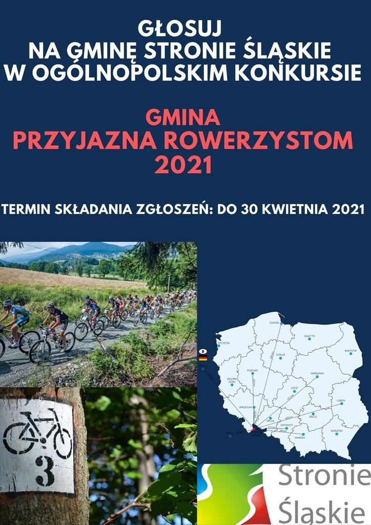 GŁOSUJ NA GMINĘ STRONIE ŚLĄSKIE W KONKURSIE Gmina przyjazna rowerzystom 2021.jpeg