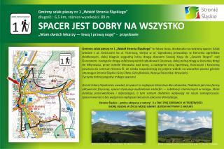 """Galeria Gminny szlak pieszy nr 1 """"Wokół Stronia Śląskiego"""""""