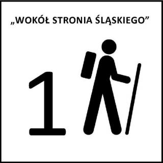 """Oznakowanie gminnego szlaku pieszego nr 1 """"Wokół Stronia Śląskiego"""