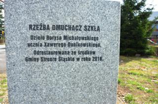 """Galeria Pomnik """"Dmuchacz Szkła"""""""