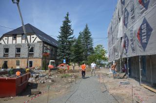 Galeria II Fotorelacja z remontu Urzędu Miejskiego wraz z otoczeniem