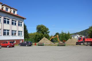 Galeria I Fotorelacja z budowy Sali Gimnastycznej ZSS