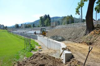 Galeria II Fotorelacja z remontu stadionu sportowego w Stroniu Śląskim