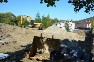 Galeria III Fotorelacja z budowy sali gimnastycznej ZSS