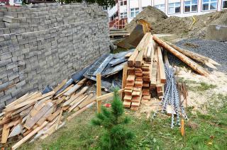 Galeria IV Fotorelacja z budowy sali gimnastycznej ZSS