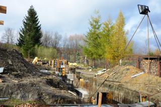 Galeria V Fotorelacja z budowy sali gimnastycznej w ZSS
