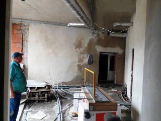 Galeria VIII Fotorelacja z budowy sali gimnastycznej w ZSS