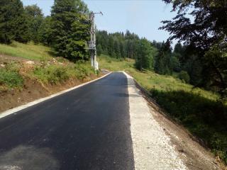 Galeria Fotorelacja z modernizacji drogi gminnej w Siennej