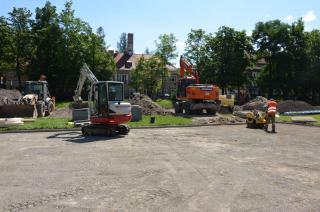 Galeria I fotorelacja z budowy boisk przy Szkole Podstawowej w Stroniu Śląskim