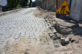 Galeria I fotorelacja z przebudowy ulicy Kościelnej w Stroniu Śląskim