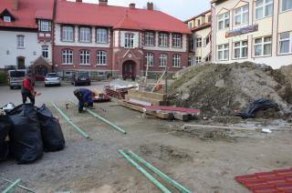 Galeria IX Fotorelacja z budowy sali gimnastycznej ZSS
