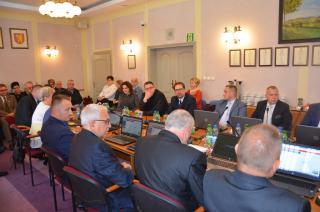 Galeria Inauguracyjna Sesja VIII kadencji Rady Miejskiej. Ślubowanie Radnych i Burmistrza.